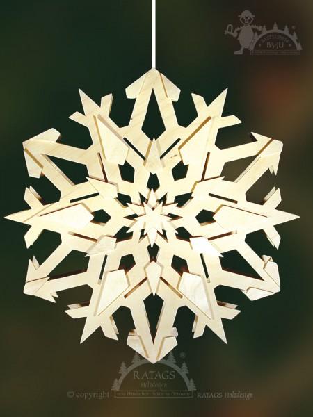 Fensterbild Stern, Deko, Weihnachten, Erzgebirge