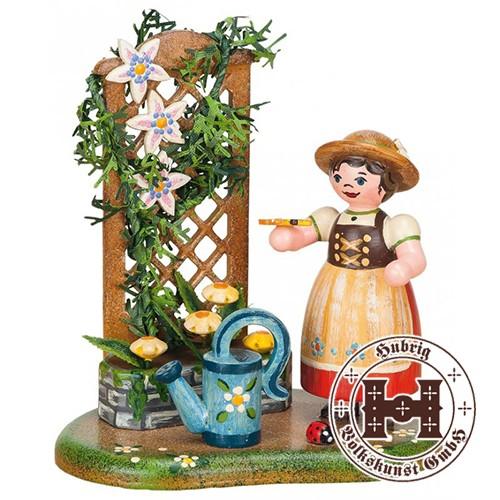 Landidyll Sommerblumenranke