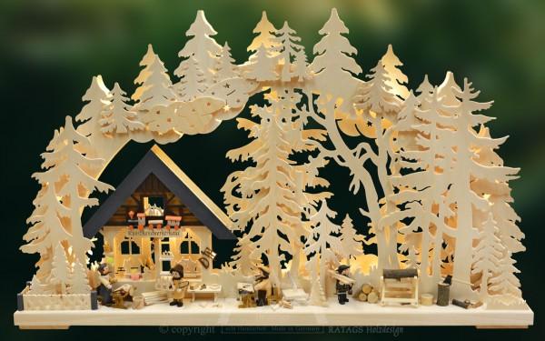 Schwibbogen Werkstatt, Deko, Weihnachten, echt Erzgebirge