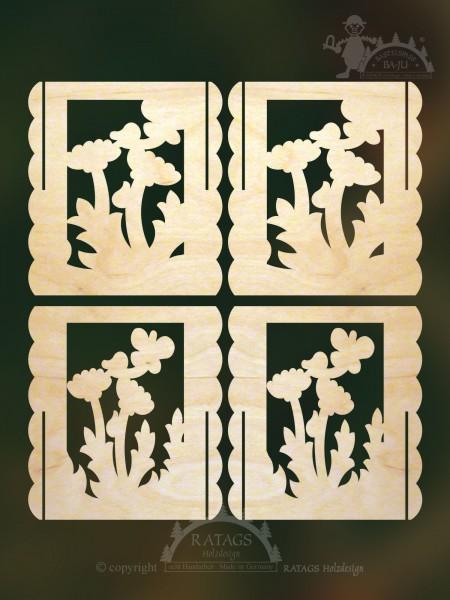Tischl=E4mpchen Pusteblume selbst auss=E4gen, echt Erzgebirge