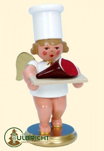 Figur, Kochengel mit Schinken