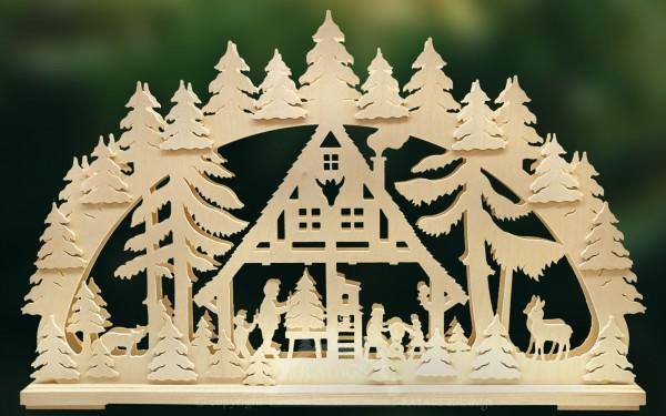 Schwibbogen Weihnachtsstube, Echt Erzgebirge, Deko