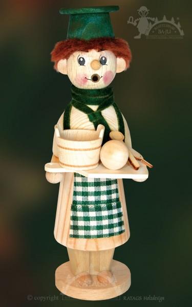 Räuchermännchen zum Basteln, Bäcker, Weihnacht