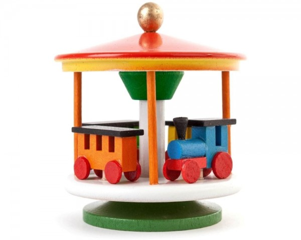 Karusell mit Eisenbahn