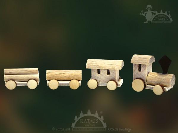 Zug Bastelset, 1 Lokomotive, Wagon, Miniatur