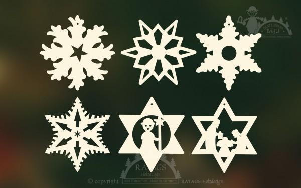 Baum- Strauchbehang, Deko, Weihnachten, echt Erzgebirge