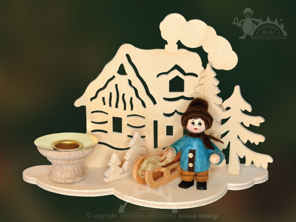 Tischschmuck Haus, Deko, Weihnachten, echt Erzgebirge