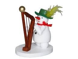 Figur, Schneemann Harfe
