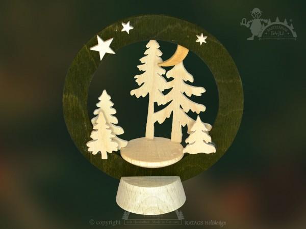 Tischschmuck Waldesruh, Deko, Weihnachten, echt Erzgebirge