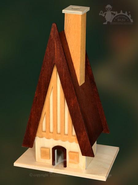 Räucherhaus zum Basteln, Finnhütte, Weihnacht, Duft