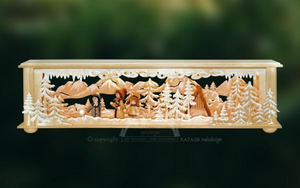 Raumleuchte Haus, Deko, Weihnachten, echt Erzgebirge