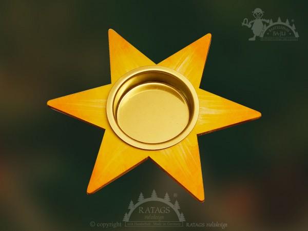 Tischschmuck, Stern, Teelichthalter, Weihnacht