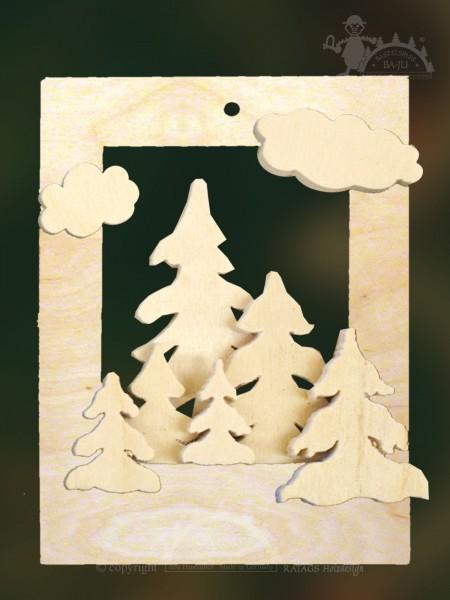 Baumbehang zum Basteln, Weihnacht, Erzgebirge