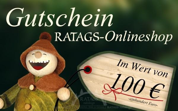 Onlinegutschein RATAGS Onlineshop