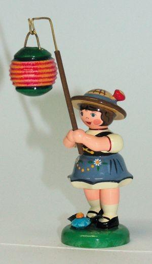 Figur, Mädchen, Kugellampion