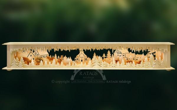 Raumleuchte Seiffen, Deko, Weihnachten, echt Erzgebirge