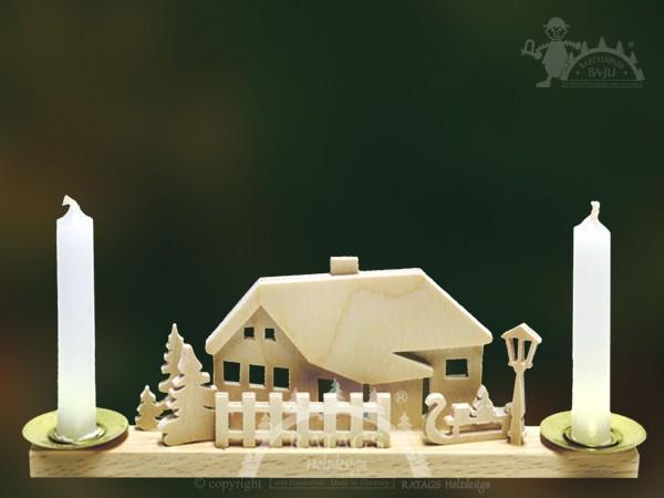 Tischschmuck Schlitten, Deko, Weihnachten, echt Erzgebirge