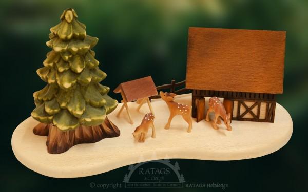 Tischschmuck Raeucherbaum, Weihnachten, echt Erzgebirge
