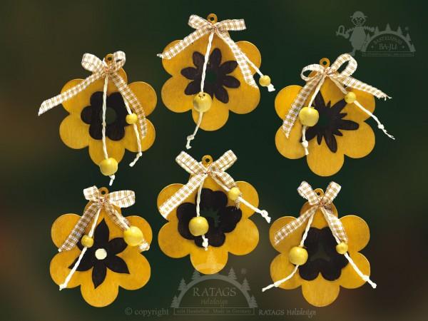 Baum- Strauchbehang, Deko, Blume, Schleifen, Intarsie