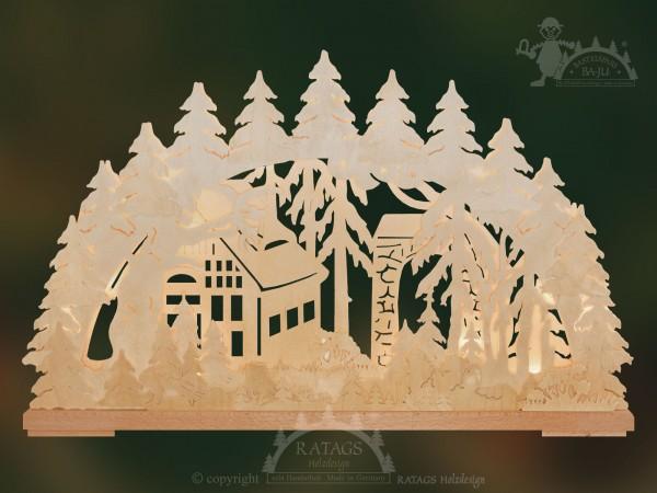 Schwibbogen Torbogen, Deko, Weihnachten, echt Erzgebirge