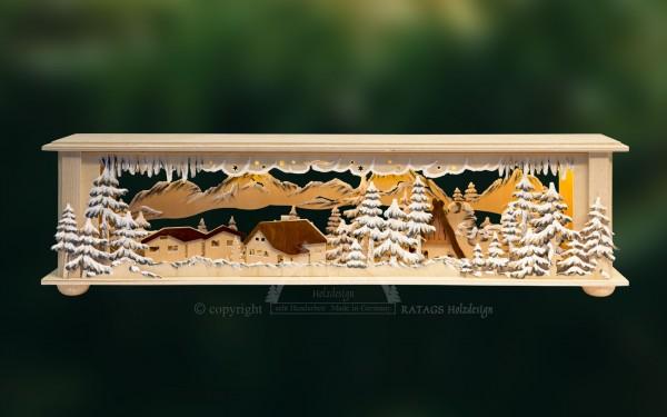 Raumleuchte Häuschen, Deko, Weihnachten, echt Erzgebirge