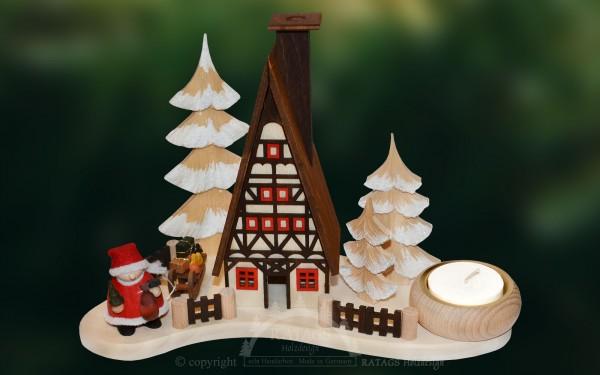 Lichterteller, Finnhütte, Molli-Weihnachtsmann