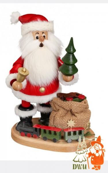 Weihnachtsmann mit Eisenbahn