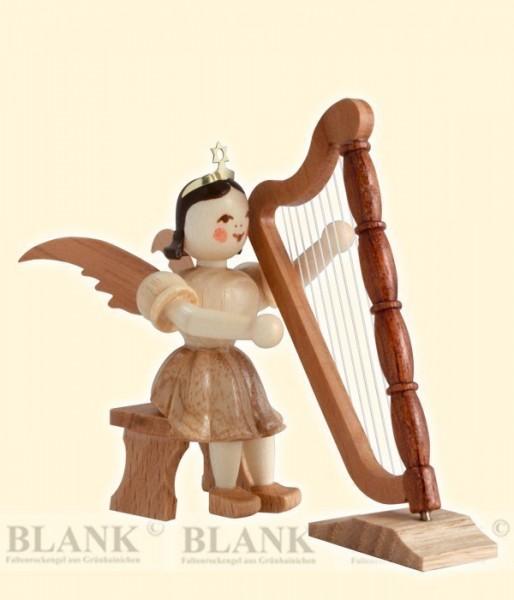 Harfe, sitzend