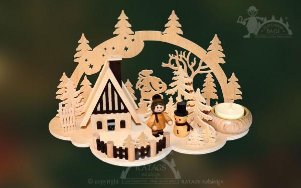 Tischschmuck Weihnachtsmann, Weihnachten, echt Erzgebirge