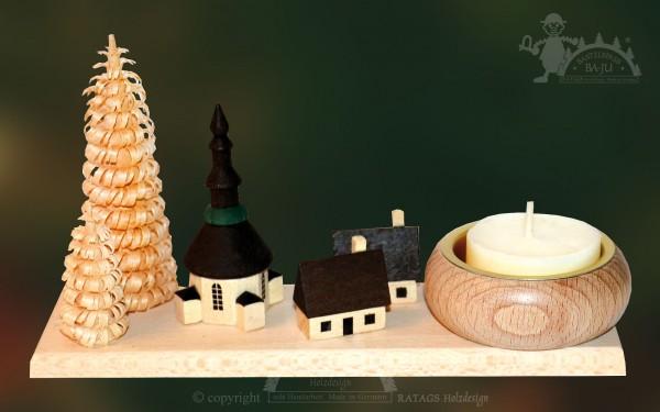 Tischschmuck Kirche, Deko, Weihnachten, echt Erzgebirge