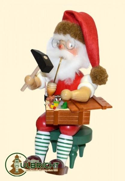 Räuchermann, Weihnachtsmann, sitzend