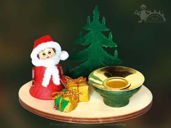 Tischschmuck Glockenkind, Deko Weihnachten, echt Erzgebirge