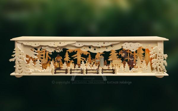 Raumleuchte, Pferdekoppel, Deko, echt Erzgebirge