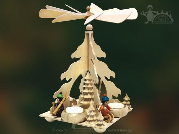 Baum Pyramide, Deko, Weihnachten, echt Erzgebirge