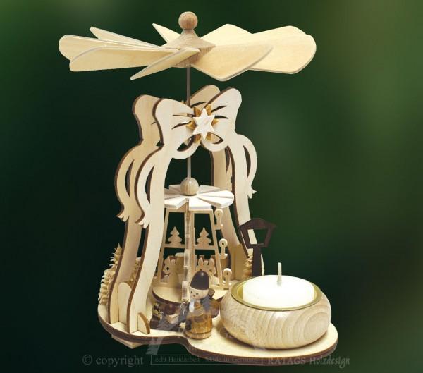Glockenpyramide-Mini, Weihnachtsmann