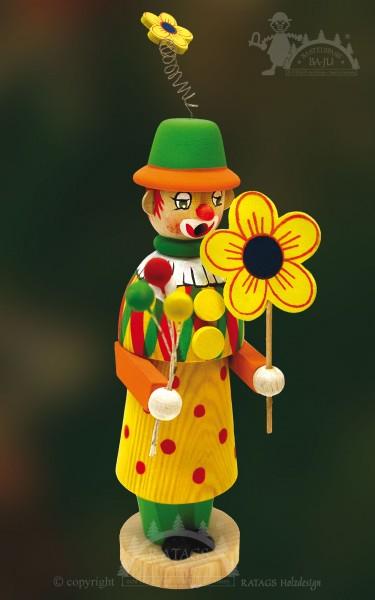 Räuchermännchen zum Basteln, Clown, Zirkus