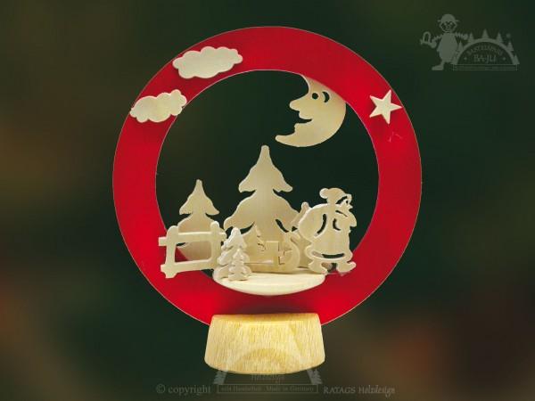 Tischschmuck Weihnachtsmann, Deko, echt Erzgebirge