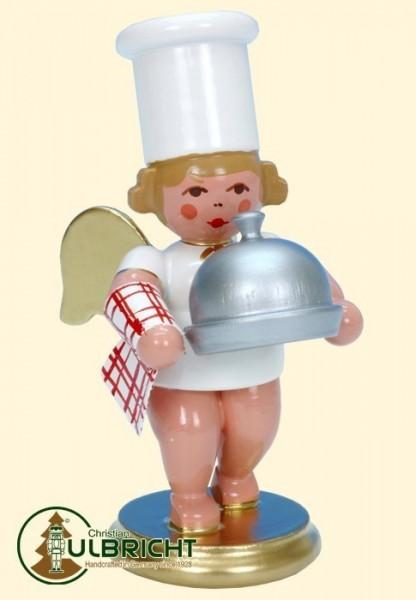 Figur, Kochengel mit Warmhalteglocke