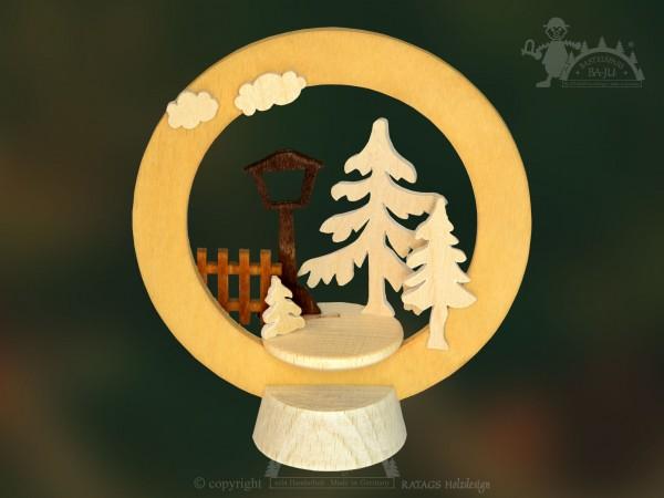 Tischschmuck Laterne, Deko, Weihnachten, echt Erzgebirge