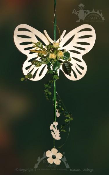 Schmetterling, Deko, floristik, Frühling