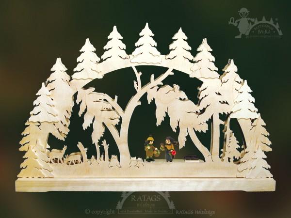 Schwibbogen Windbruch, Deko, Weihnachten, echt Erzgebirge