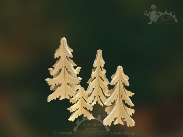 Steckbäume, Wald, Deko