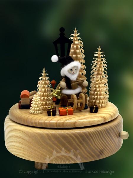 Spieluhr, Weihnachtsmann, Laterne, Süßer die Glocken