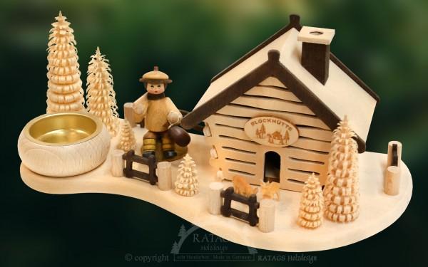 Raeucherhaus Rast, Deko, Weihnachten, echt Erzgebirge