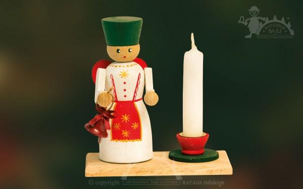 Kerzenhalter zum Basteln, Engel