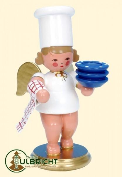 Figur, Kochengel mit Teller