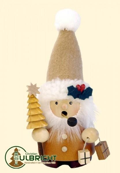 Räuchermänner Weihnachtsmann natur