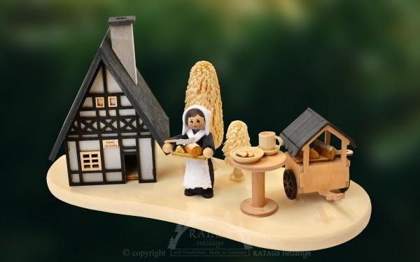 Raeucherhaus Stollenverkauf, Weihnachten, echt Erzgebirge