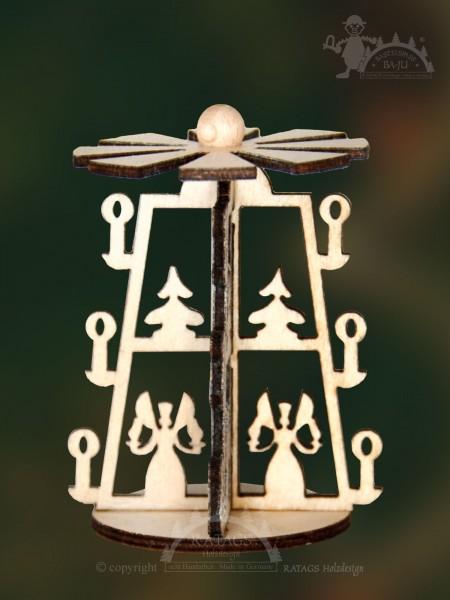 Bastelset, Pyramide, weihnacht, Engel, Bergmann