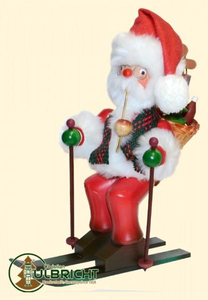 Räuchermann, Weihnachtsmann, Ski